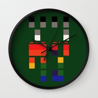 coldplay Wall Clocks featuring I Will Try To Fix You by Adel