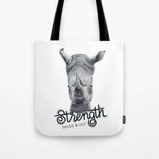 Rhino Strength Tote Bag