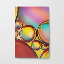 H20 & Oil III Metal Print