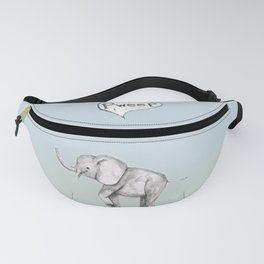 Cute elephant Fanny Pack