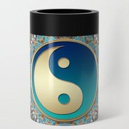 Bohemian Batik Yin Yang Can Cooler