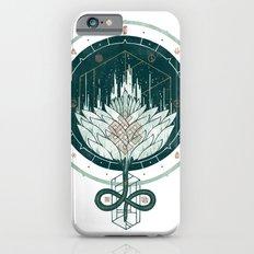 White Dahlia Slim Case iPhone 6s