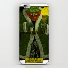 Ghost of Christmas Present iPhone & iPod Skin