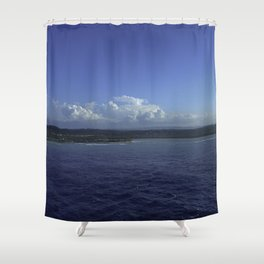 Jamaican Shoreline Shower Curtain