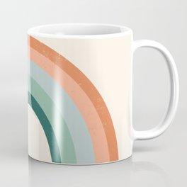 Juicer - 70s rainbow, terracotta, rust, sage, dusty blue, earth tones Coffee Mug