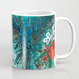 Macaw with watermelom, Viva La Vida Coffee Mug