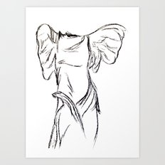 Winged Victory 2 Art Print