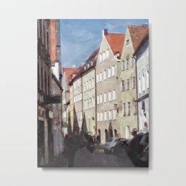 Landshuter Altstadt Nr. 5 Metal Print