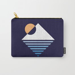 Snow Mountain sunset Carry-All Pouch