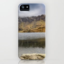 Lake Idwal Winter iPhone Case