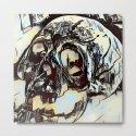 Metal Paper Skull by jeffreyjirwin
