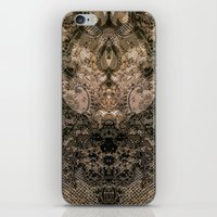 antique iPhone & iPod Skins featuring Antique Lace by Klara Acel