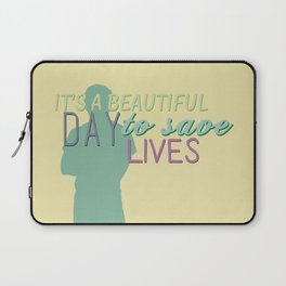 it's a beautiful day Laptop Sleeve