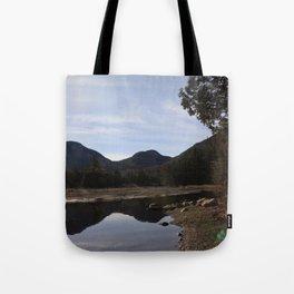 High Peaks Upstate New York Lake Placid Tote Bag