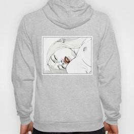 Confidently contented Hoody