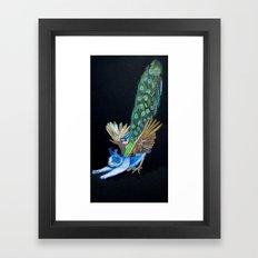 Goddess of Many Eyes 4 Framed Art Print