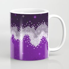Ace Pride Flag Galaxy Mug