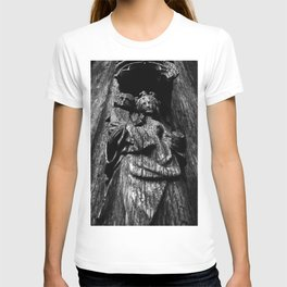 shot on iphone .. madonna & child T-shirt