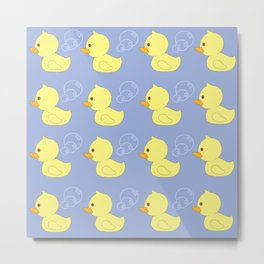 Rubber Ducky You're the One Metal Print