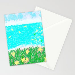 YELLOW NARISSI Stationery Cards