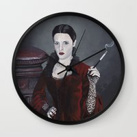 discworld Wall Clocks featuring Adora Belle Dearheart by Mage Lanz