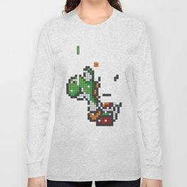 Yoshi Tetris Long Sleeve T-shirt