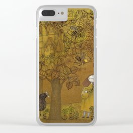 The Queen of Bees and the Princess who loved Honey Clear iPhone Case