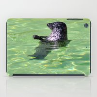 seal iPad Cases featuring seal by  Agostino Lo Coco