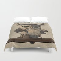 pablo picasso Duvet Covers featuring pablo by Mye Lim