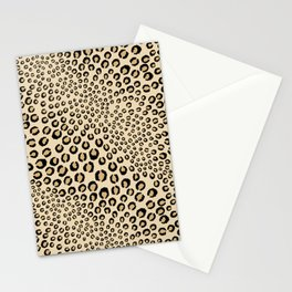 Leopards Want To Be Kissed Stationery Cards