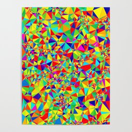 Abstract Pattern XIV Poster