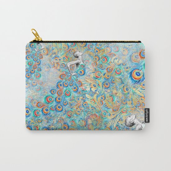Feather Peacock #13 Carry-All Pouch