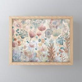 jardin 2 Framed Mini Art Print