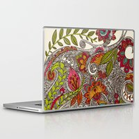 valentina Laptop & iPad Skins featuring Random Flowers by Valentina Harper