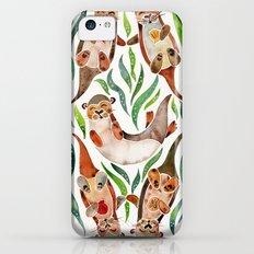 Five Otters – Green Seaweed iPhone 5c Slim Case