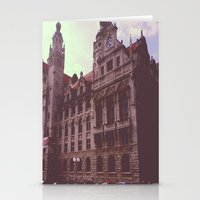 germany Stationery Cards featuring Germany by Jiesha  Stephens