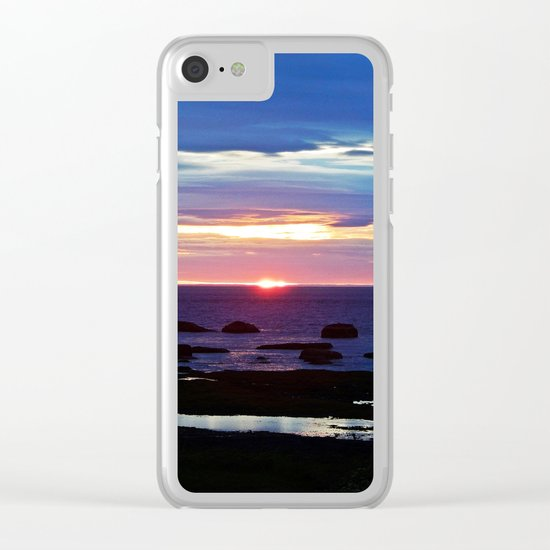 Nature's Gift Clear iPhone Case
