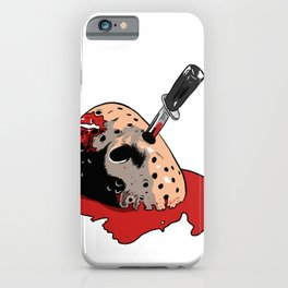Jason Voorhees mask iPhone Case