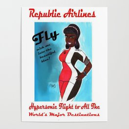 Miriyum of Republic Airlines Poster