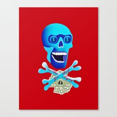 Get Rich or Die Trying Canvas Print