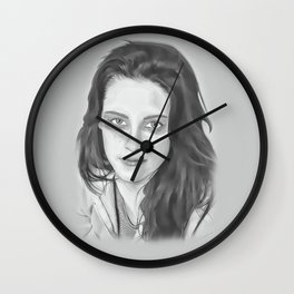 Kristen Stewart Wall Clock