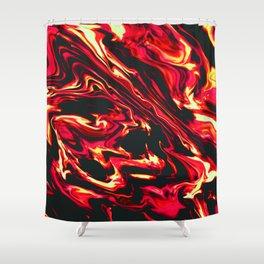 The Devil Shower Curtain