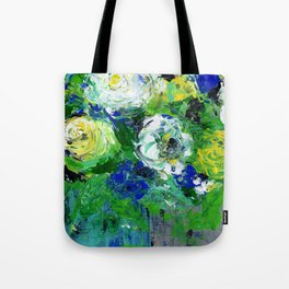 Abstract Floral - Botanical Tote Bag