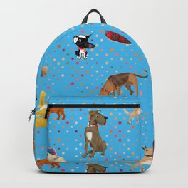 Lessons my dogs taught me. Backpack