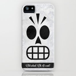 GRIM FANDANGO - OLD SCHOOL, OH, IT'S COOL! iPhone Case