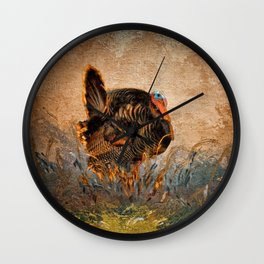 Wild Turkey Wall Clock