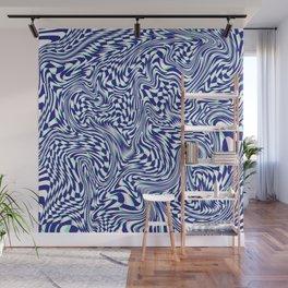 FLIPPY FLOPPY (warped geometric design) Wall Mural