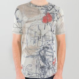 completely almost All Over Graphic Tee