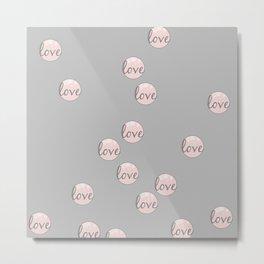 Love bubbles Metal Print