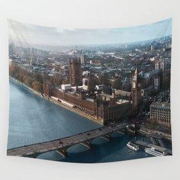 LONDON CITY BIG BEN VII Wall Tapestry
